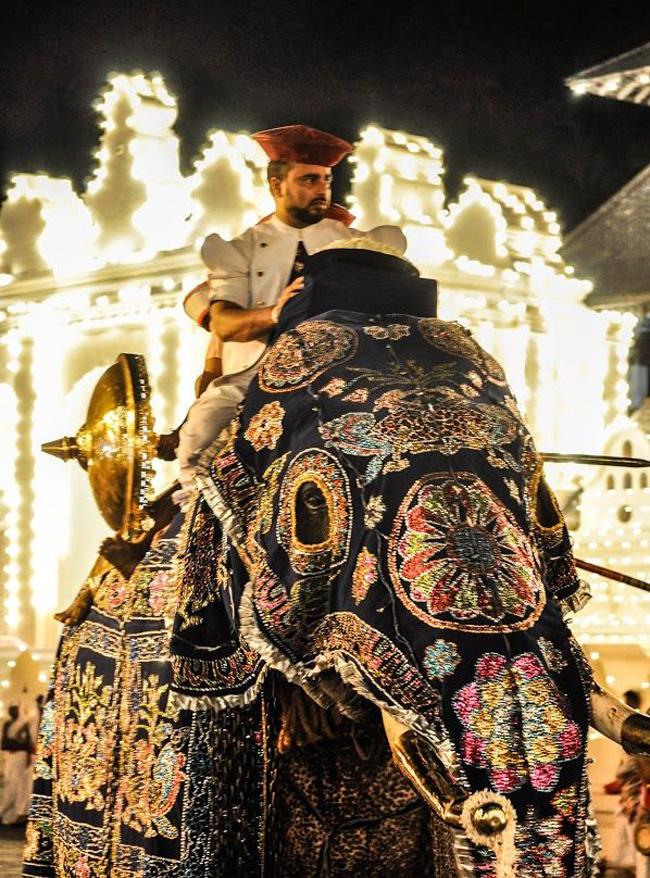 Esala Perahera, es un gran festival que se celebra en agosto en Kandy, Sri Lanka